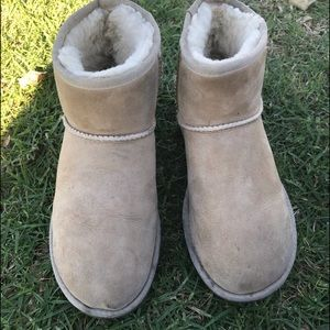 Ugg classic ankle boots.